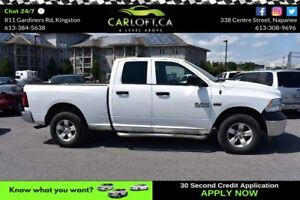 2015 RAM 1500 SXT 4X4- CRUISE CONTROL*REMOTE START*SAT RADIO