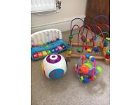 Bundle Of Baby toys, learning & play, summer , garden toys, lego blocks, puzzles