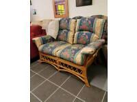 Sofa.2 of cane ..