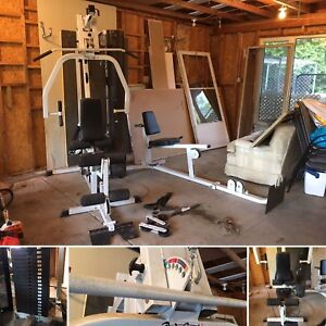 Work out station