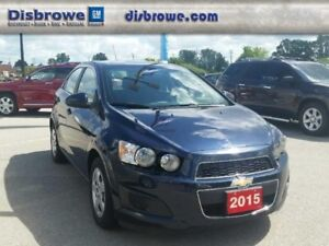 2015 Chevrolet Sonic LT  - Certified - Heated Seats -  Backup Ca