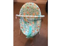 Bright stars bouncer chair - excellent condition