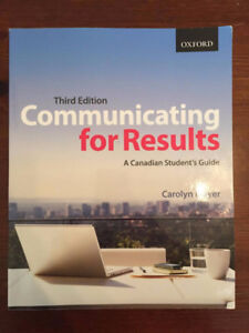 Communicating for Results Meyer 3rd ed.