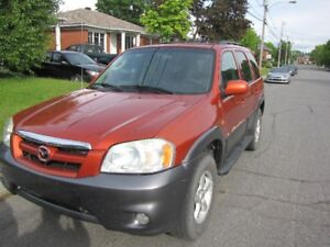 V.U.S. Mazda Tribute 2005 V6 traction intégrale