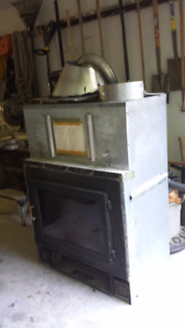 Napoleon airtight Zero clearance fireplace for wood