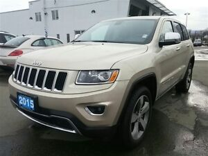 2015 Jeep Grand Cherokee Limited Leather ! 4x4 ! and more !