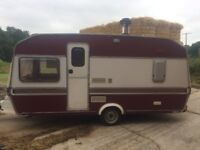 Simple 3 Berth Caravan Project, with log burner! Use while sorting, camp all winter!