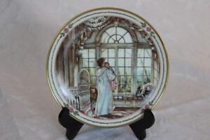 "Collector Plate - Trisha Romance ""Bright Eyes"""