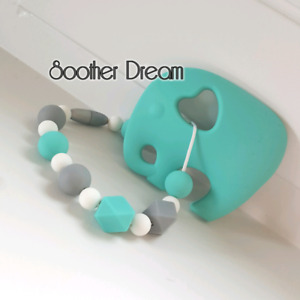 Pacifier clip, teether, key chain, toys, more