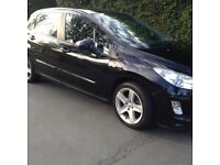 Peugeot 308 1.6 HDi FAP Sport 110 BHP 5dr 2008 ,104000 mileage warranty full service history Hpi cle