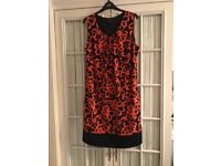 Black and Orange Klass Dress