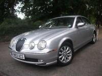 JAGUAR S-TYPE 2.5 V6 SE 4dr Auto (silver) 2003