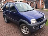 Daihatsu Terios EL 1.3 Petrol - 4x4 - 73000 Miles - Long MOT (No Advisories)