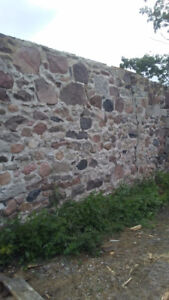 ROCK AND STONE BARN FOUNDATION