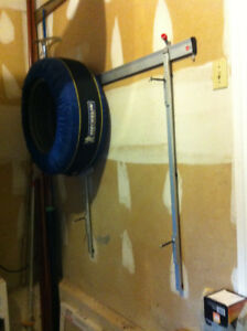Wall Rack for Seasonal Wheels/Tires