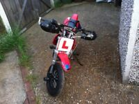 Road legal pit bike 50cc