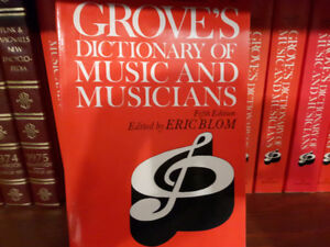 Groves Music Dictionary
