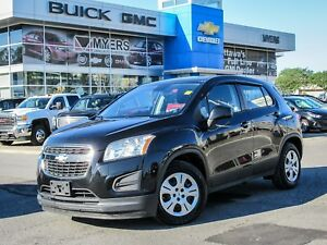 2014 Chevrolet Trax LS, A/C, BLUETOOTH, POWER GROUP 6SPD MANUAL