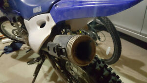 Need a spark arrestor / baffle for end of exhaust, ttr 125