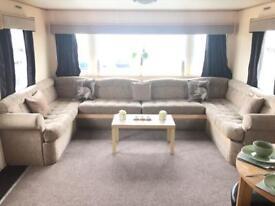 Cheap quality double glazed central heated static caravan , north east coast , caravan for sale