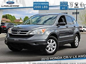 2010 Honda CR-V LX**AWD*AUTOMATIQUE*CRUISE*A/C*