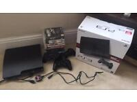 PS3 160gb with 14 games GTA V .. COD etc