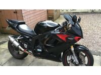 Hyosung GT125R 125cc Motorcycle Learner Legal V Twin 12 Months MOT Low Mileage