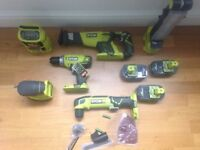Ryobi power tools sets