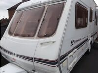Swift 5 Berth Luxury Touring Caravan Ace Abbey Sterling Group. BARGAIN
