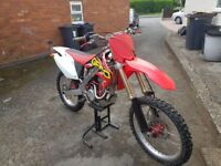 Crf250 2005 - px offroad bike or £1400 today