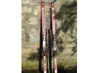 Set of Ski's & Poles