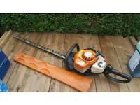 Stihl hs 81r hedge cutter , 750mm blade