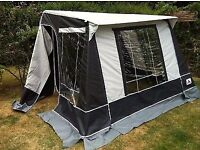 Dorema 'Challenger' Standalone awning. Size 1. Black & Grey. Virtually new