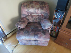 Fauteuil style lazy-boy