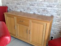 (Dinning table ).( Sideboard) (6chairs) used furniture but in good condition