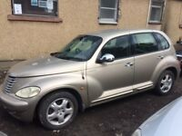 BREAKING CHRYSLER PT CRUISER 2.2 DIESEL MERC ENGINE 2002