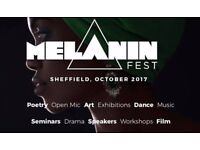 Black History Month - Melanin Fest Sheffield 2017. Our Mel will deliver 31 days of activities.