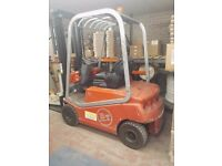 Forklift Truck, full and complete service history and all supported documentation Ailsa BTC4E150