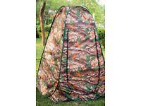 Portable pop-up tent.