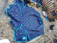 Horses winter coat used once great condition