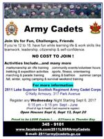 Army Cadets Open House 2511 LSSR
