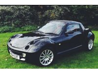 Smart Roadster, 12 month MOT, full service history, low mileage, cheap to insure, convertible.