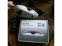 Alba digital freeview set top box