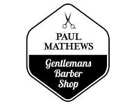 Gents Barber/ Gents Stylist wanted for busy barber shop