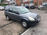 Honda CRV 2005 model diesel in great condition bargain PX welcome