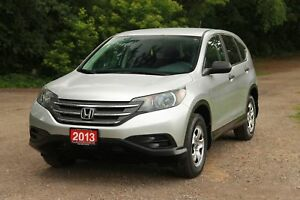 2013 Honda CR-V LX | Bluetooth | CERTIFIED + E-Tested