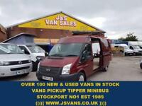 2012 62 FORD TRANSIT FORD TRANSIT L.W.B T300 MED ROOF 1 OWNER ONLY 76000 MLS DI