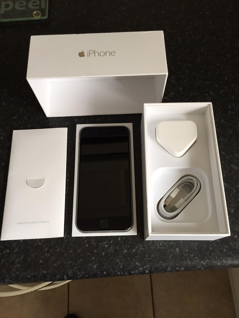 Apple iPhone 6 space gray 64gb on O2 in very good conditionin Newtownabbey, County AntrimGumtree - Apple iPhone 6 space gray 64gb on O2 in very good condition this comes with box sim pin genuine apple charging plug and lead thanks for looking