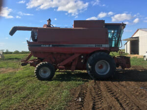 Case IH 2188 and headers