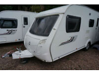 2009 SWIFT CHARISMA 540 5 BERTH CARAVAN - DOUBLE DINETTE - LOVELY